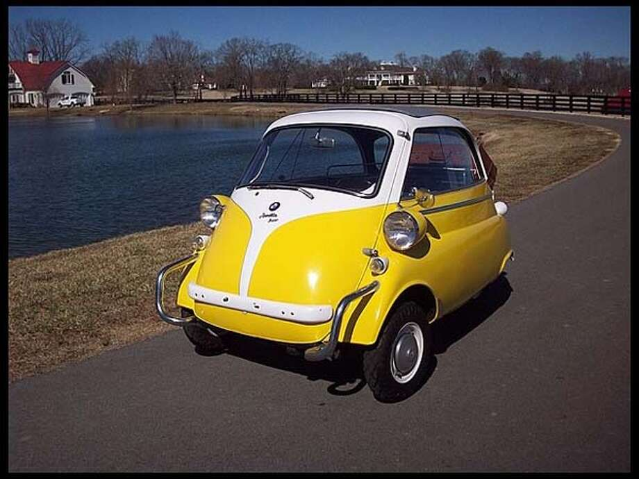 1957 BMW Isetta 300 Photo: Courtesy Of Mecum Auctions