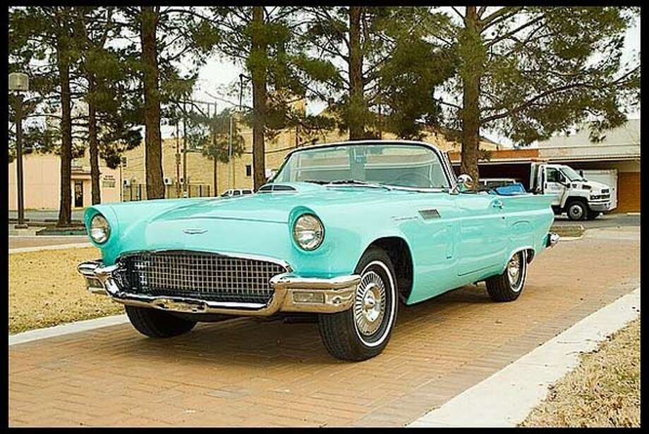 1957 Ford Thunderbird Photo: Courtesy Of Mecum Auctions