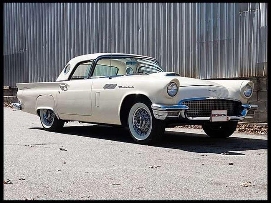 1957 Ford Thunderbird Photo: Courtesy Of Mecum Auctions