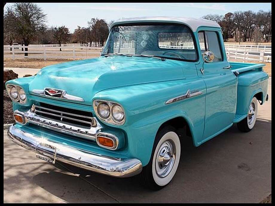 1958 Chevrolet Apache Pickup Photo: Courtesy Of Mecum Auctions