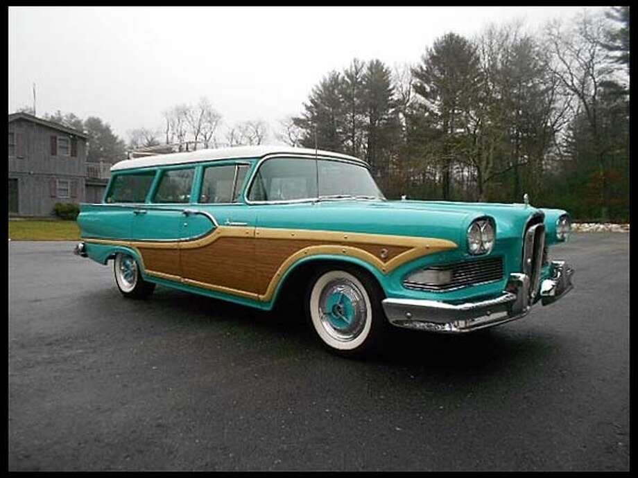 1958 Edsel Bermuda Wagon Photo: Courtesy Of Mecum Auctions