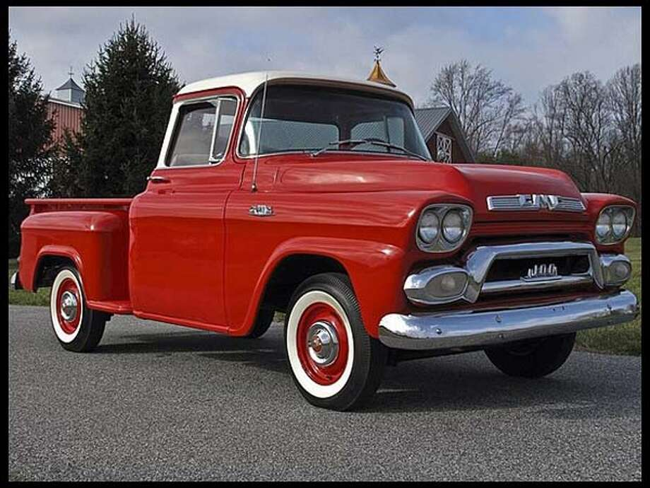 1958 GMC Deluxe Pickup Photo: Courtesy Of Mecum Auctions