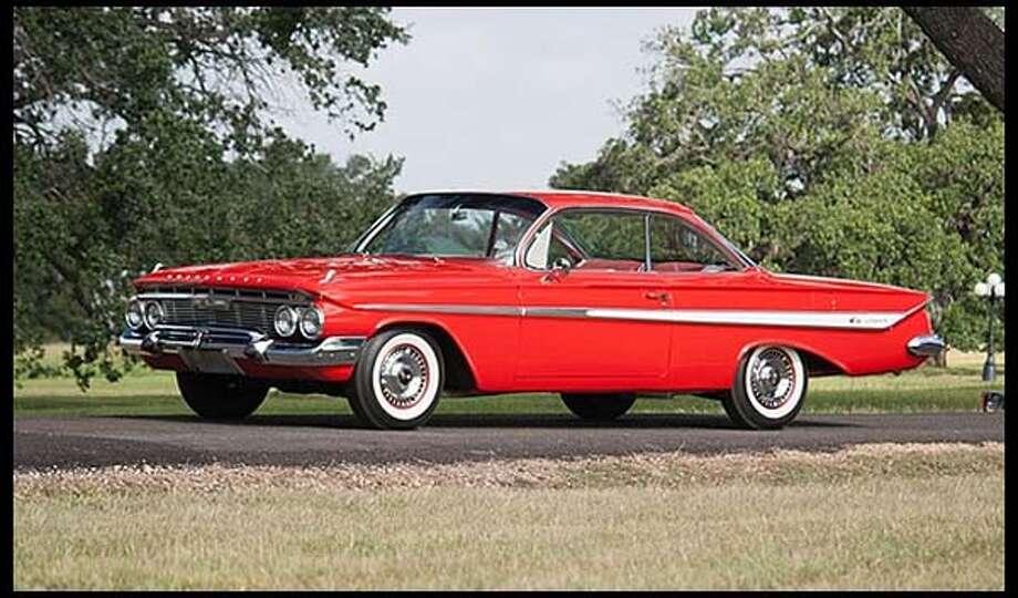 1961 Chevrolet Impala Bubble Top Photo: Courtesy Of Mecum Auctions