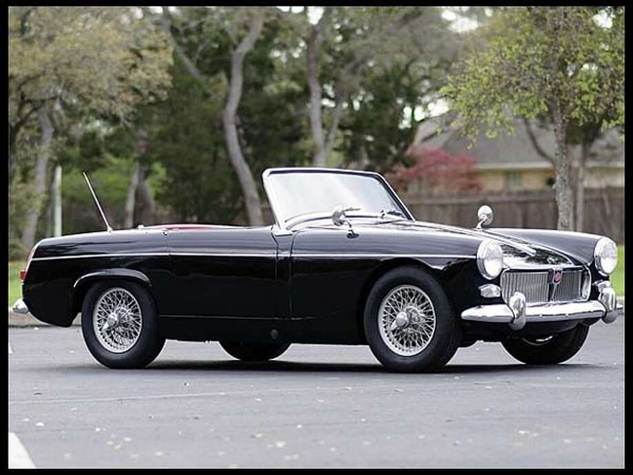 1963 MG Midget Convertible Photo: Courtesy Of Mecum Auctions