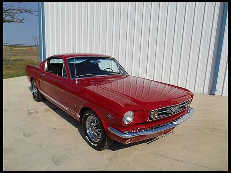 1965 Ford Mustang GT Fastback Photo: Courtesy Of Mecum Auctions