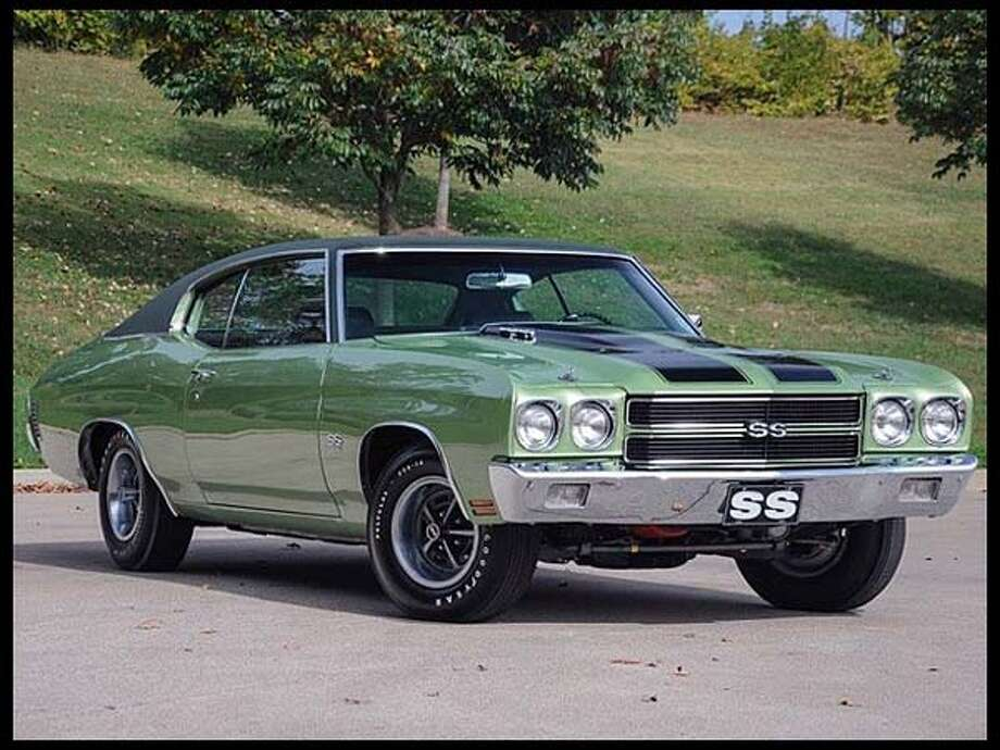 1970 Chevrolet Chevelle SS Photo: Courtesy Of Mecum Auctions