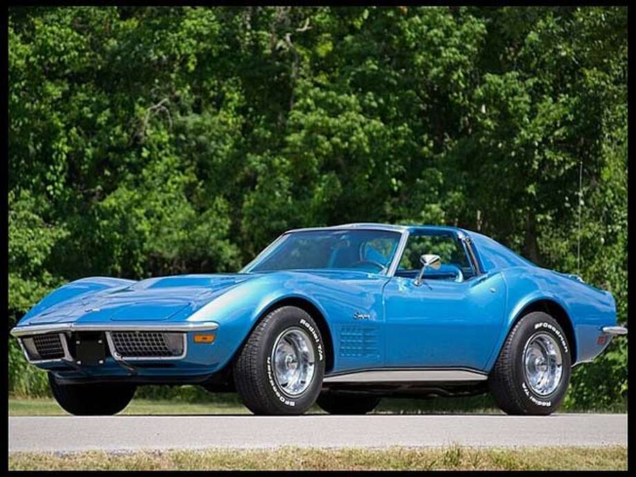1970 Chevrolet Corvette Coupe Photo: Courtesy Of Mecum Auctions