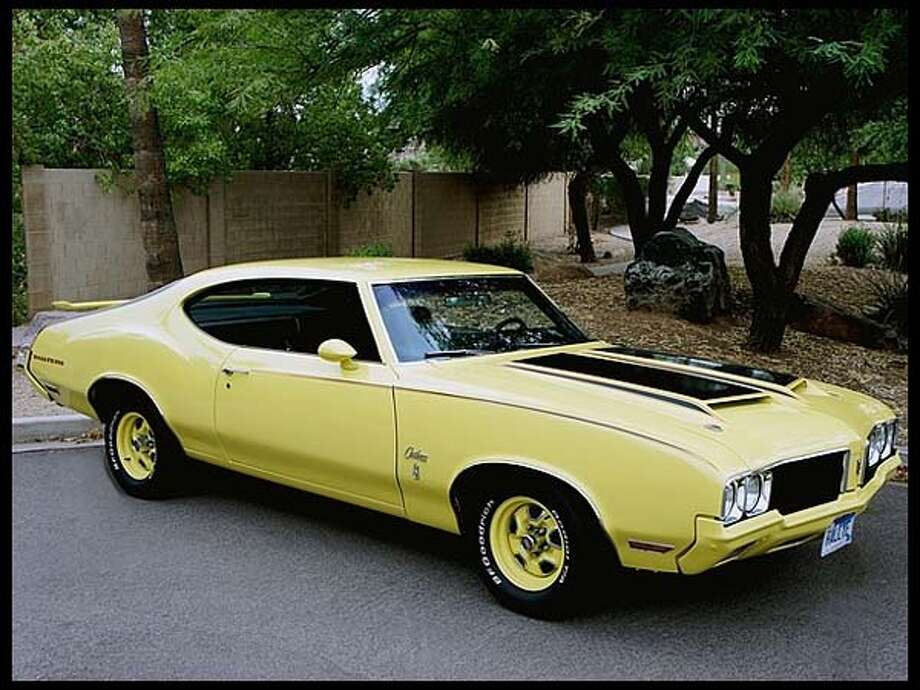 1970 Oldsmobile Cutlass Rallye 350 Photo: Courtesy Of Mecum Auctions