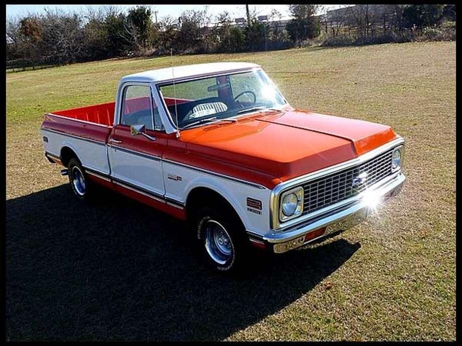 1971Chevrolet C10 Pickup Photo: Courtesy Of Mecum Auctions