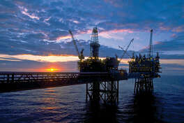 A ConocoPhillips project at the Ekofisk field in the North Sea.