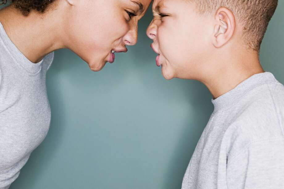 Do invite kids over and be there to observe. If you see your child getting aggressive, step in and correct the behavior. You want to teach your child that hurting others is not okay. Photo: Roy McMahon, Getty Images