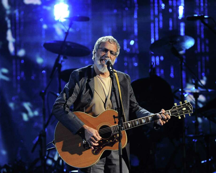 Hall of Fame Inductee Cat Stevens performs at the 2014 Rock and Roll Hall of Fame Induction Ceremony on Thursday, April, 10, 2014 in New York. (Photo by Charles Sykes/Invision/AP) ORG XMIT: NYCS005 Photo: Charles Sykes, AP / Invision