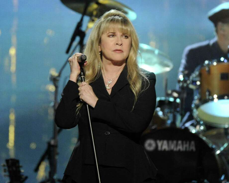 Stevie Nicks performs at the 2014 Rock and Roll Hall of Fame Induction Ceremony on Thursday, April, 10, 2014 in New York. (Photo by Charles Sykes/Invision/AP) ORG XMIT: NYCS461 Photo: Charles Sykes, AP / Invision