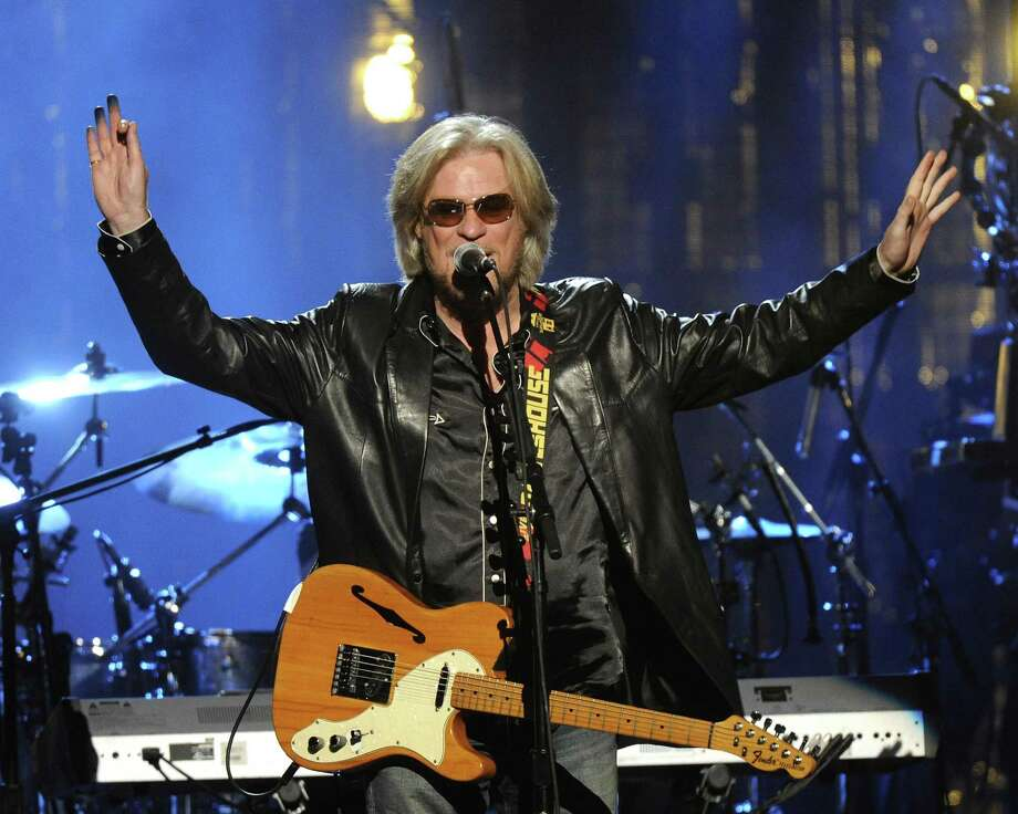 Hall of Fame Inductee, Hall and Otes, Daryl Hall performs at the 2014 Rock and Roll Hall of Fame Induction Ceremony on Thursday, April, 10, 2014 in New York. (Photo by Charles Sykes/Invision/AP) ORG XMIT: NYCS467 Photo: Charles Sykes, AP / Invision
