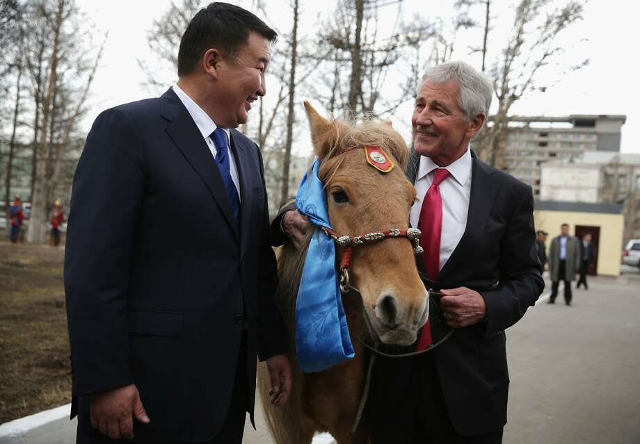 He will serve the U.S. cavalry well, Mr. Secretary: Mongolian Defense Minister 