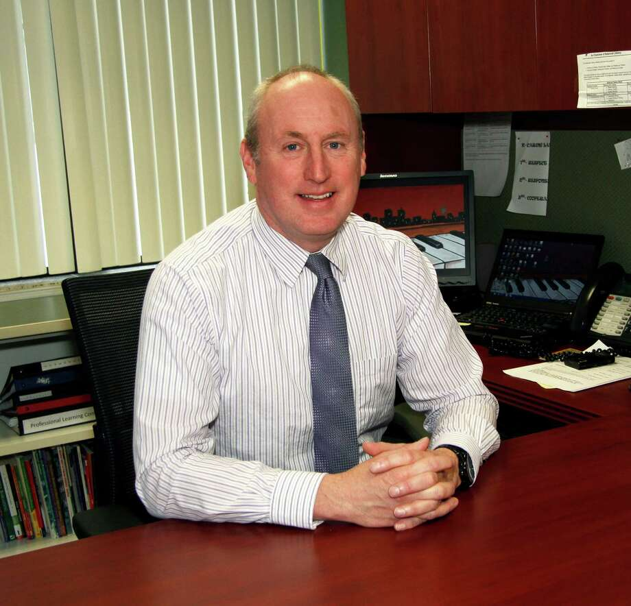 Queensbury Elementary School Principal Patrick Pomerville has been named the new superintendent of the Waterford-Halfmoon school district. (Submitted photo)