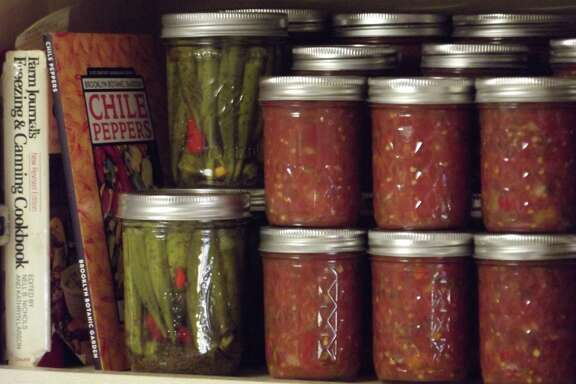 Master Gardener Gene Speller spent years perfecting his picante sauce recipe.