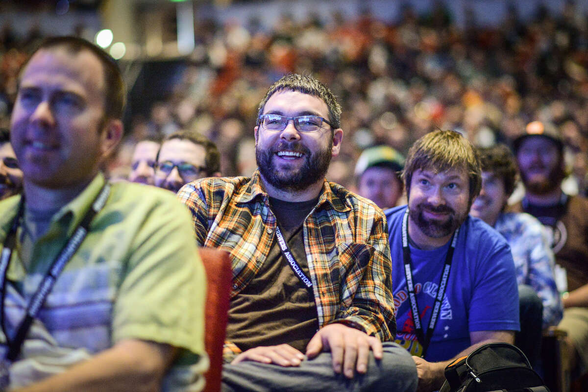 Despite talk about bad beer, the crowd at the 2014 Craft Brewers Conference in Denver this week heard much to smile about.