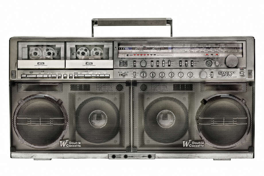 "Lyle Owerko's ""Boombox Project"" features photos of old-school boomboxes. Photo: Lyle Owerko"