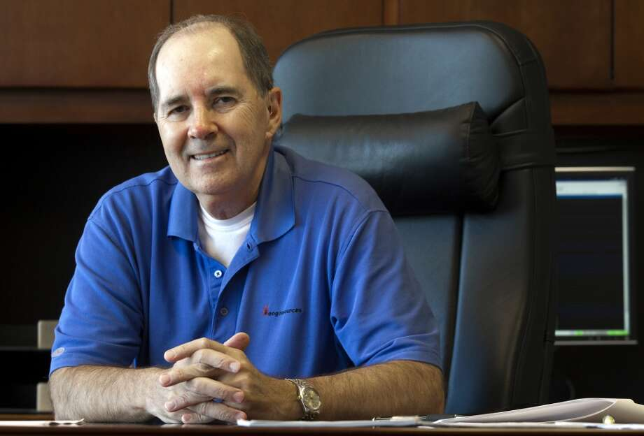 Mark Papa former chairman and CEO of EOG Resources  Down 19 percent  2013: $13.5 million 2012: $16.7 million  [Photo: Then- Chairman of EOG Resources Mark Papa sits in his Houston office. Papa retired from the company in December 2013.] Photo: J. Patric Schneider, For The Chronicle