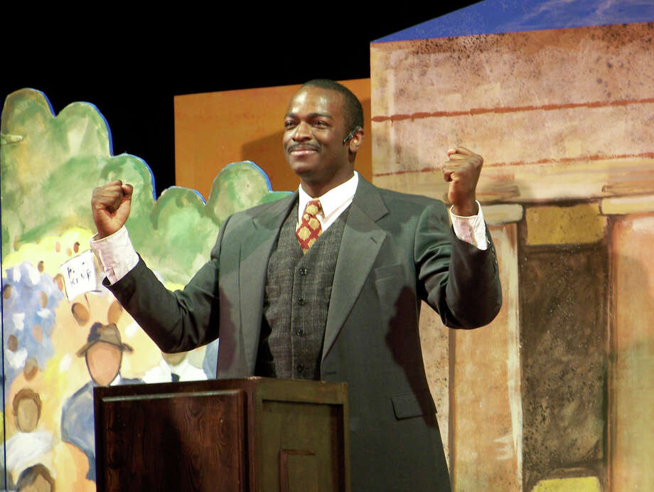 Education and entertainment come together at the Ridgefield Playhouse, when Theatre IV presents their dramatic portrayal of the life of Dr. Martin Luther King, Jr. Photo: Contributed Photo / Connecticut Post Contributed