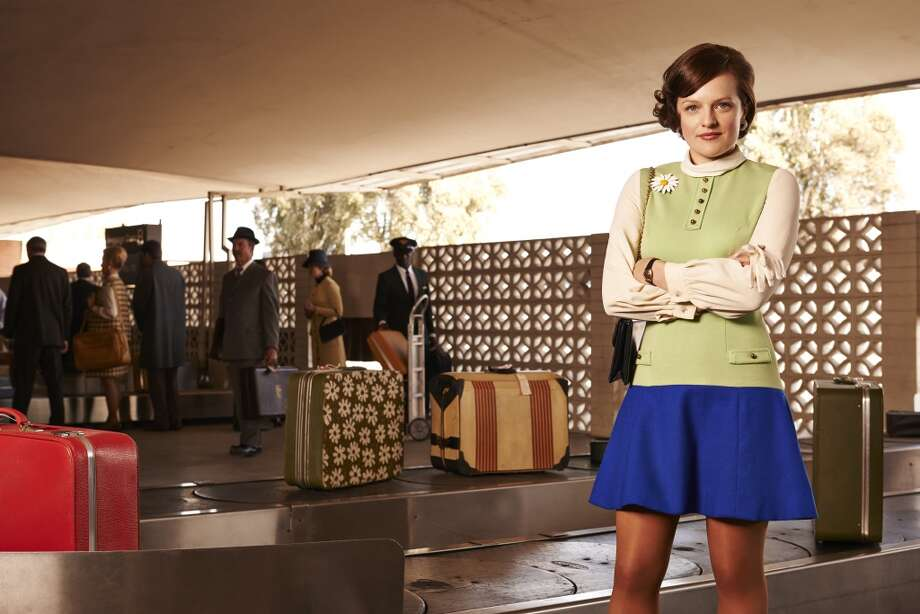 "Peggy Olson: ready for takeoff in season seven of AMC's ""Mad Men."" Photo: Frank Ockenfels 3/AMC"