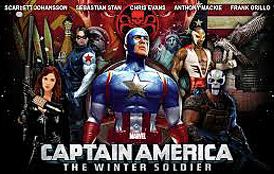 """Captain America: The Winter Soldier"" is a story of espionage in this latest movie adventure for the Marvel superhero and friends. Photo: Contributed Photo / Westport News"
