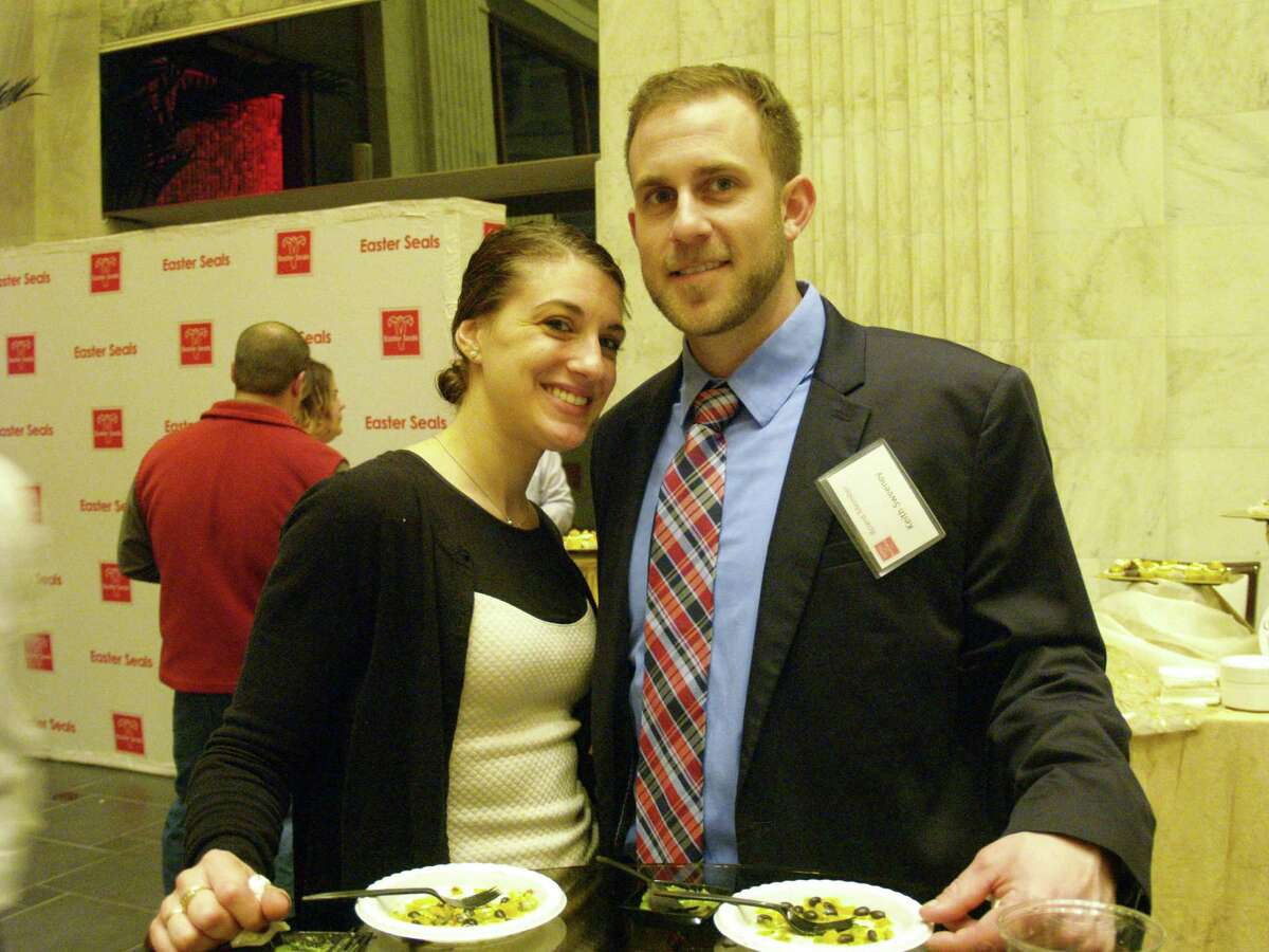 Were you Seen at Cuisines of the Capital, a benefit for Easter Seals New York, at Sixty State Place in Albany on Thursday, April 10, 2014?