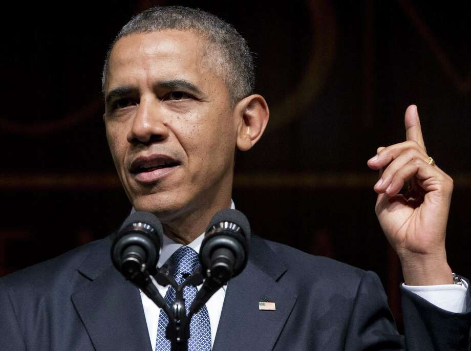 "Leftist policy from high up: President Barack Obama  has stated that the question of global warming is ""settled."" Photo: Carolyn Kaster / Associated Press / AP"