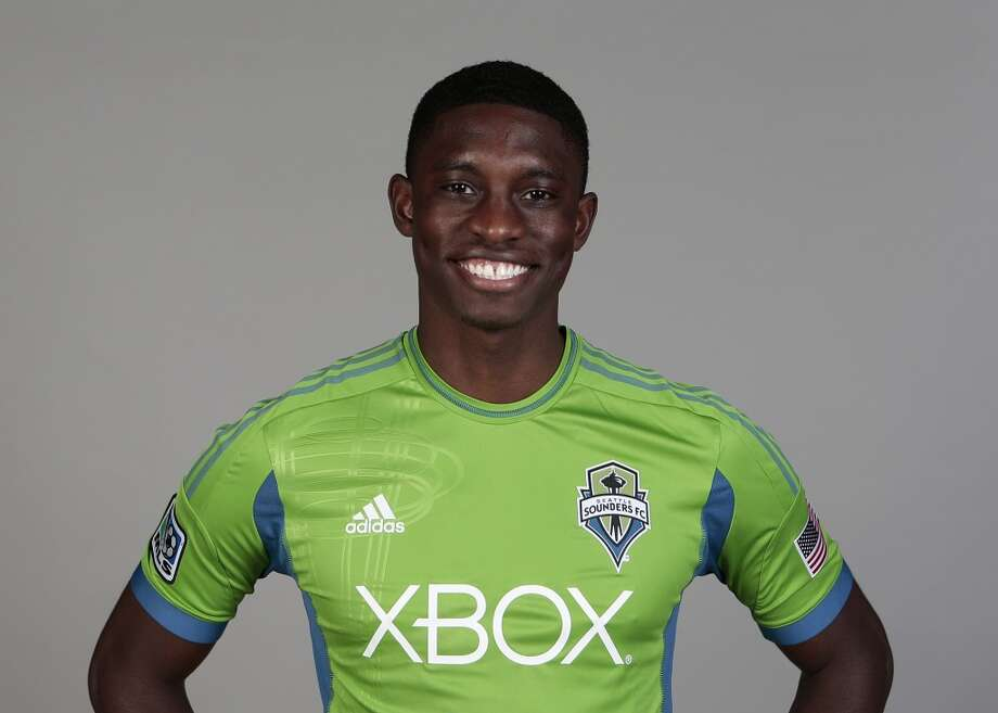 Jalil Anibaba#4, defender  2014 base salary: $119,6202014 guaranteed: $159,620  2013 guaranteed: $131,245 Photo: Headshot, Major League Soccer