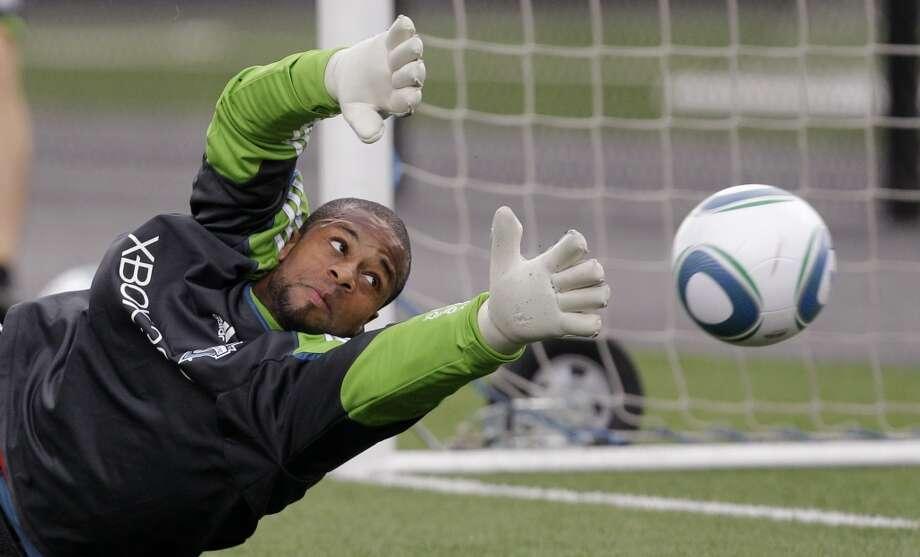 Josh Ford#29, goalkeeper  2014 base salary: $48,5002014 guaranteed: $50,240  2013 guaranteed: $46,500 Photo: Elaine Thompson, Associated Press