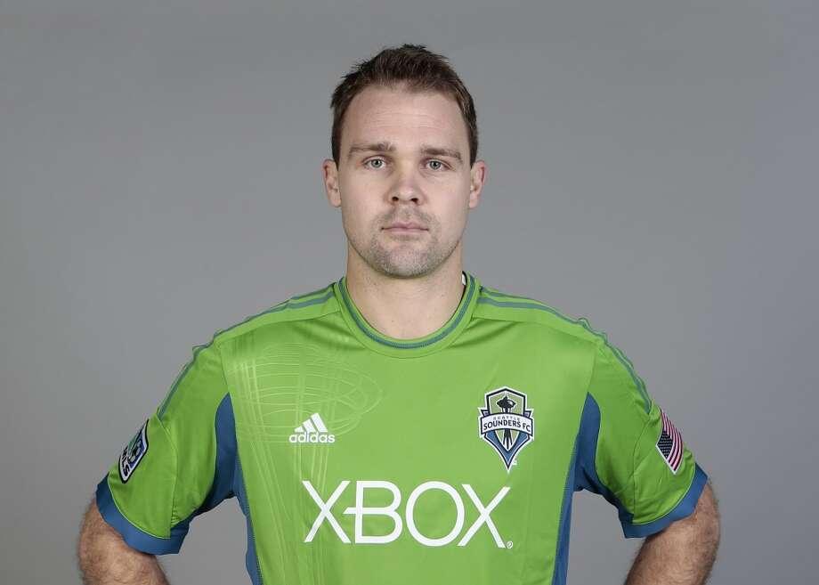 Chad Marshall#14, defender  2014 base salary: $270,0002014 guaranteed: $286,667  2013 guaranteed: $361,250 Photo: Headshot, Major League Soccer
