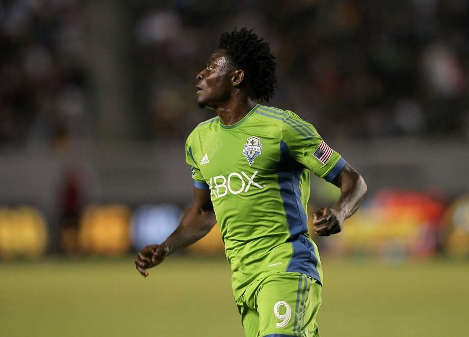 Obafemi Martins#9, forward — international/designated player  2014 base salary: $1.620 million2014 guaranteed: $1.753 million  2013 guaranteed: $1.725 million Photo: Victor Decolongon, Getty Images