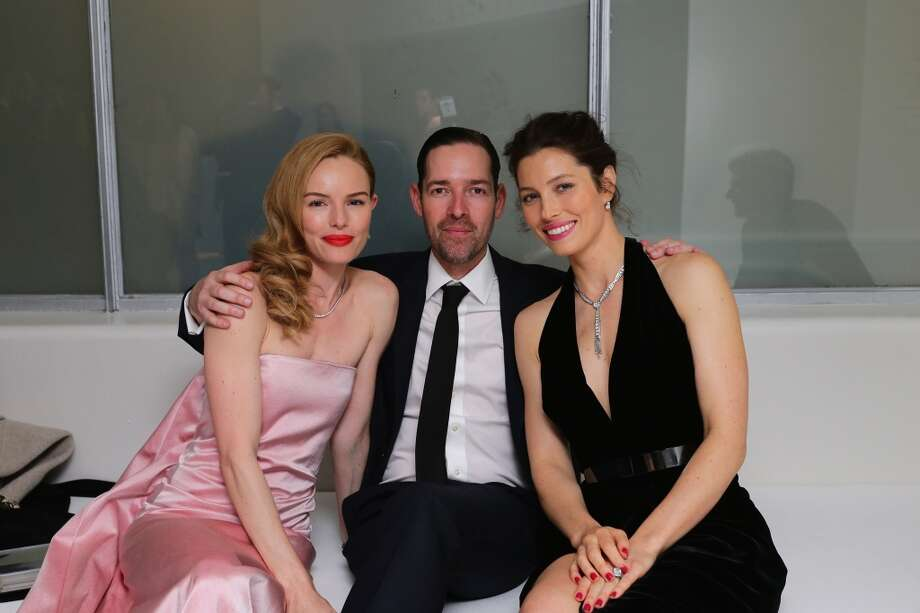 Kate Bosworth, Michael Polish and Jessica Biel attend the Tiffany Debut of the 2014 Blue Book on April 10, 2014 at the Guggenheim Museum in New York, United States. Photo: Neilson Barnard, Getty Images For Tiffany & Co.