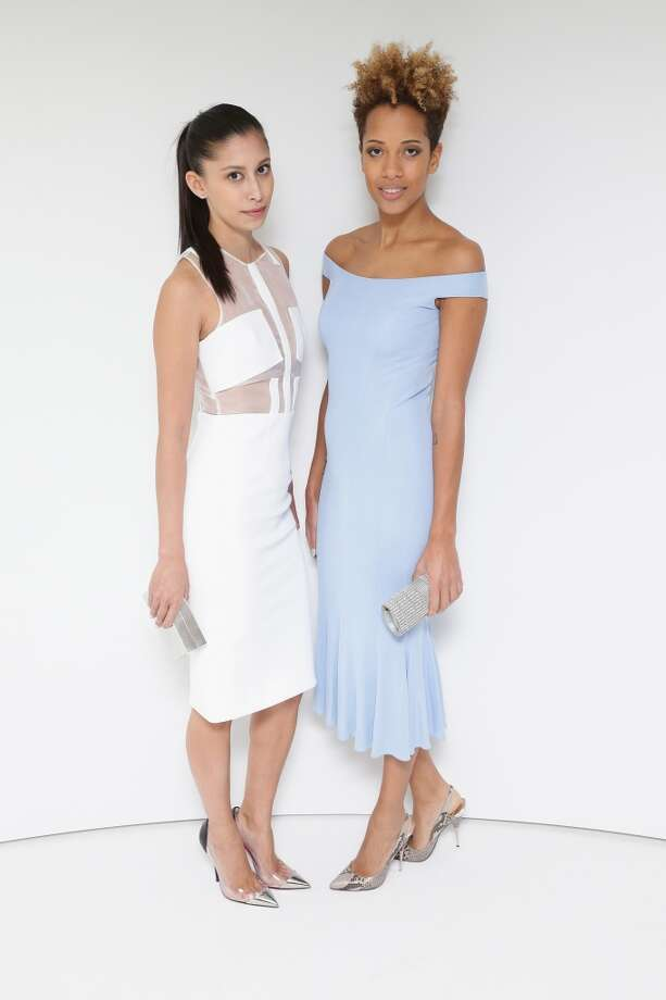 Carly Cushnie and Michelle Ochs attend the Tiffany Debut of the 2014 Blue Book on April 10, 2014 at the Guggenheim Museum in New York, United States. Photo: Neilson Barnard, Getty Images For Tiffany & Co.