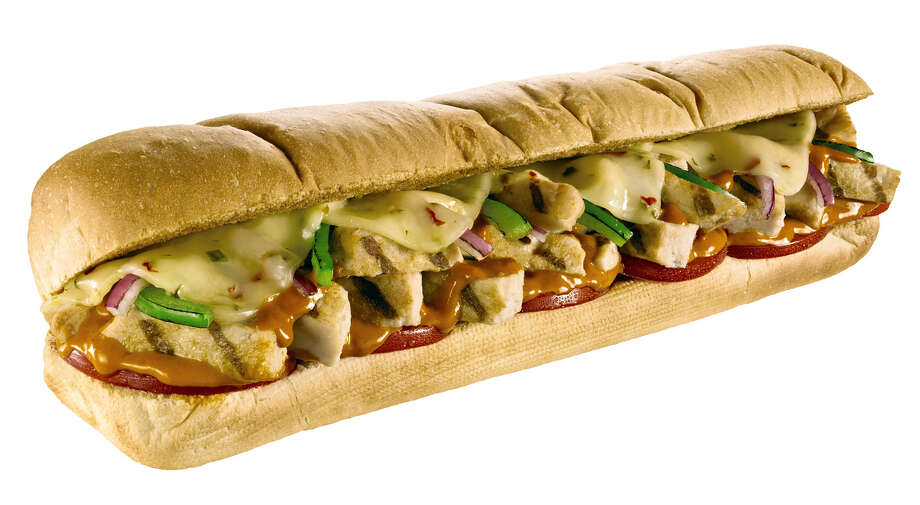Subway's Sriracha Chicken Melt. Photo: Contributed Photo / Connecticut Post Contributed