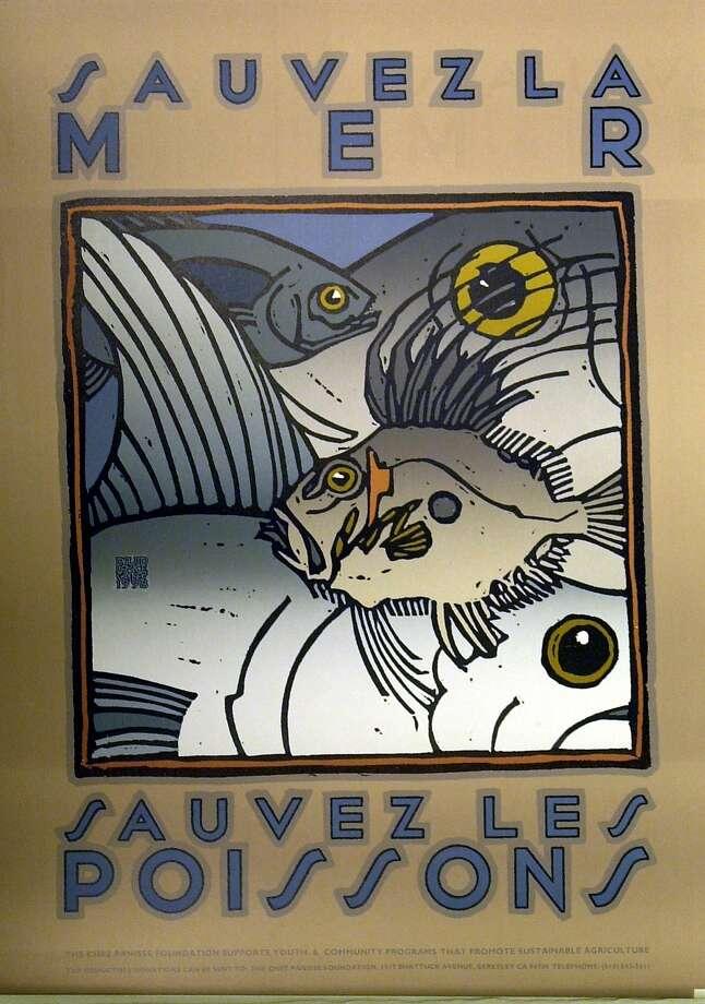 Chez panisse menus, posters Photo: John Storey, SFC
