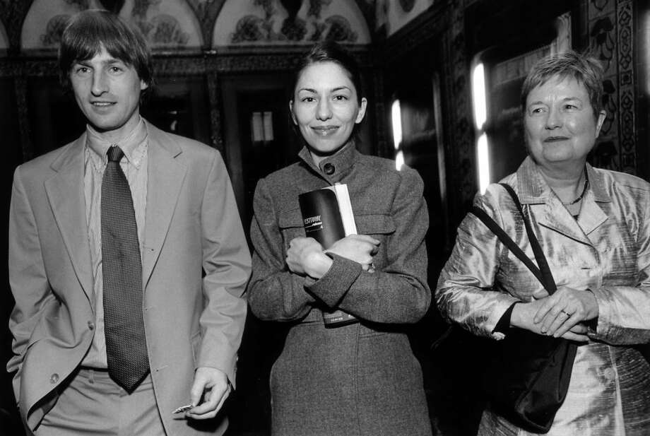 Spike Jonze with his then-wife, Sofia Coppola (center), and her mother, Eleanor Coppola, at the 1999 festival. Photo: Tk