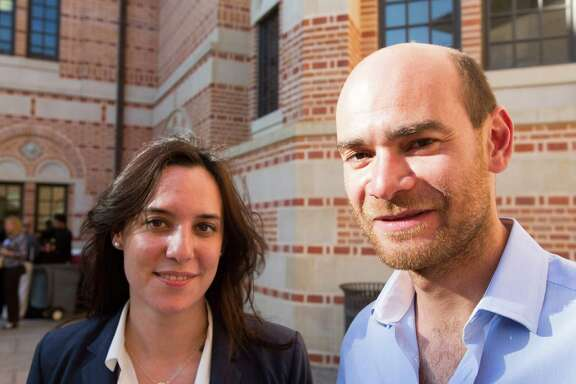 Julie Rassat and Pierre Proner are teammates in FilmShaker, which they describe as a Netflix for independent movies.