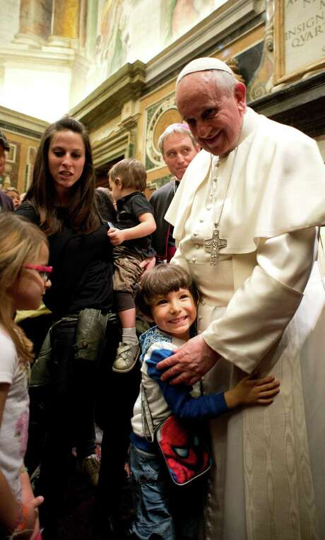 "In his strongest statement yet on the Vatican sex scandal, Pope Francis said, ""You don't play with children's lives."" Some victims wonder if it's ""only talk."" Photo: HOPD / L'Osservatore Romano"