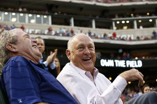 Major League strikeout king Nolan Ryan was born in Refugio, north of Corpus Christi. Photo: Jim Cowsert, Associated Press