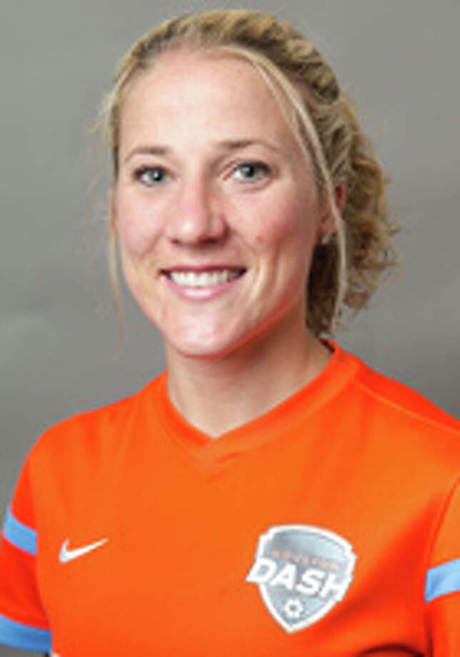 Becky Edwards, Houston Dash midfielder, 2014 MUG Photo: Handout