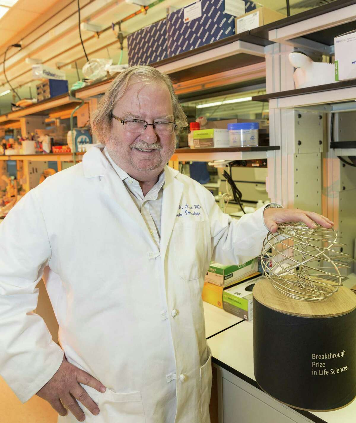 Jim Allison is chairman of immunology at the University of Texas M.D. Anderson Cancer Center.