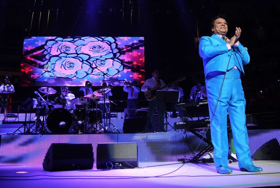 Juan Gabriel performs at the Toyota Center. Photo: Dave Rossman, For The Houston Chronicle