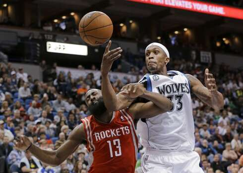 April 11: Timberwolves 112, Rockets 110  Corey Brewer scored 51 points and the Timberwolves handed the short-handed Rockets another loss.  Record: 52-27 Photo: Ann Heisenfelt, Associated Press