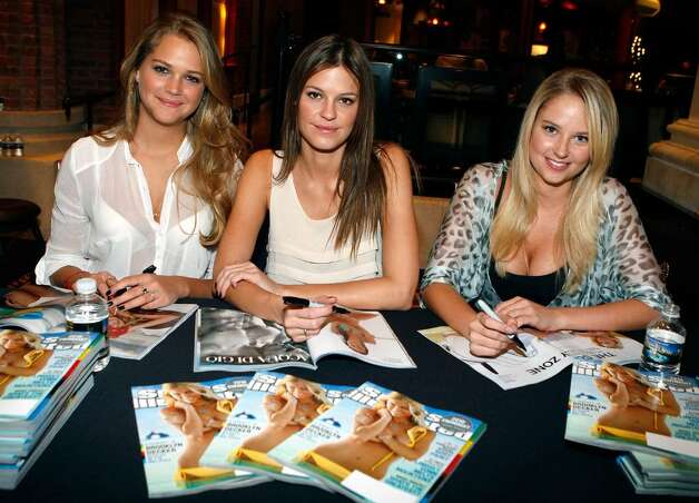 LAS VEGAS - FEBRUARY 10:  Sports Illustrated swimsuit models Esti Ginzburg,  Dominique Piek and Genevieve Morton attend the Sports Illustrated Swimsuit 24/7: Appearance At Garden Of The Gods at Caesars Palace on February 10, 2010 in Las Vegas, Nevada.  (Photo by Isaac Brekken/Getty Images for Sports Illustrated) *** Local Caption *** Genevieve Morton;Dominique Piek;Esti Ginzburg Photo: Isaac Brekken, Getty Images For Sports Illustra / 2010 Getty Images