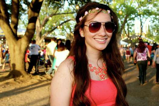 Thousands enjoyed the party atmosphere, and the oysters, during the first day of Oyster Bake at St. Mary's University on Friday. Photo: By Yvonne Zamora, For MySA.com