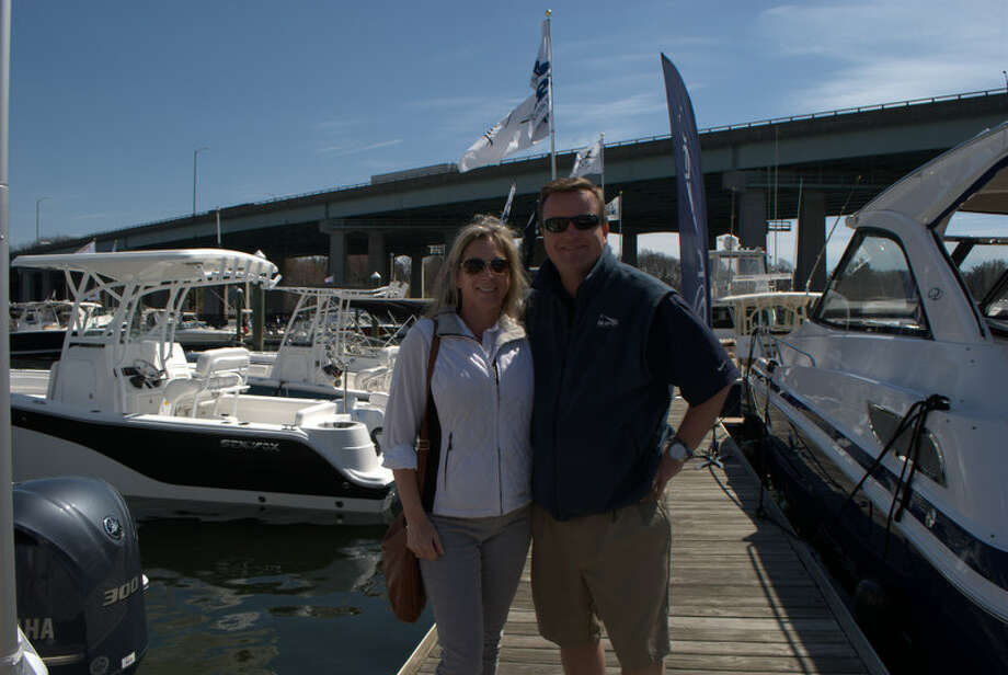 The Greenwich Water Club hosted their annual boat show on April 12. Were you SEEN at the Greenwich Water Club's Boat Show? Photo: Picasa, Lauren Stevens/Hearst Media Group