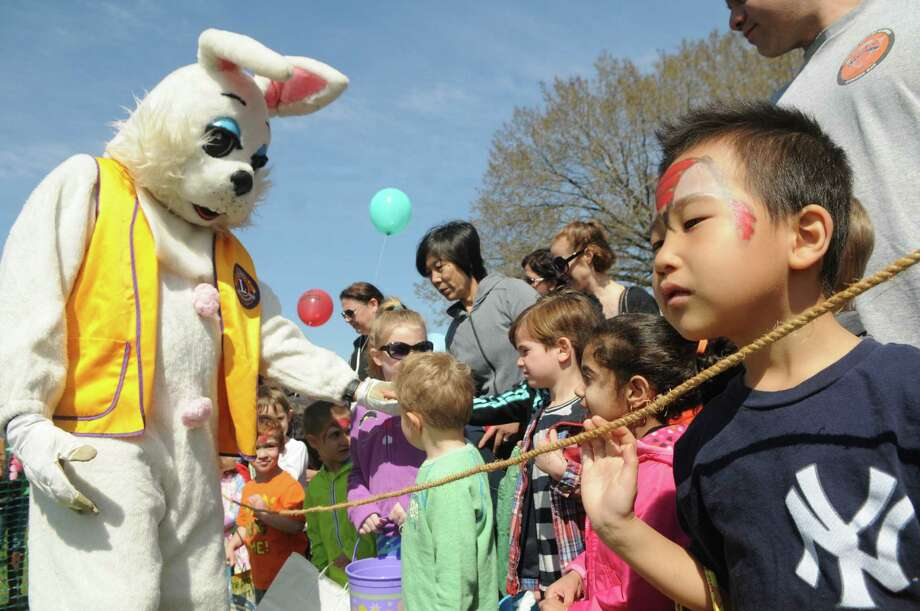 Greenwich Lions Club Easter Egg Hunt at Roger Sherman Baldwin Park in Greenwich, Conn., April 12, 2014. Photo: Keelin Daly / Stamford Advocate Freelance