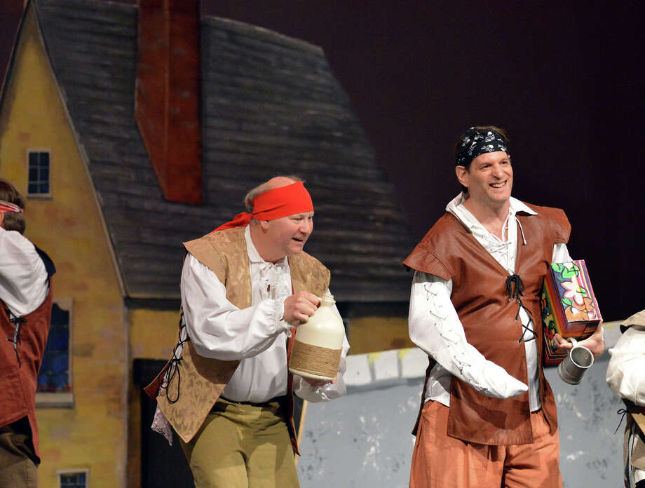 """The Troupers Light Opera production of """"The Pirates of Penzance"""" at Rippowam Middle School in Stamford, Saturday afternoon, April 12, 2014. Photo: Bob Luckey / Greenwich Time"""